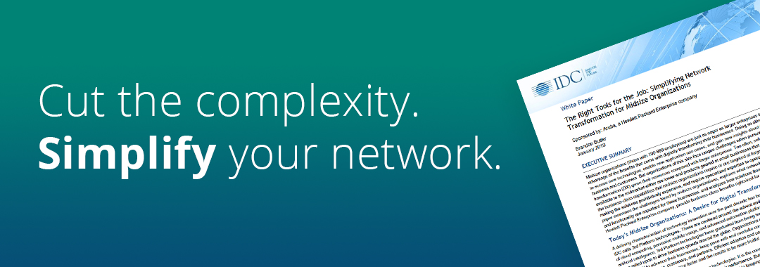 Cut the complexity. Simplify your network.